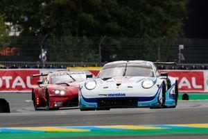 #56 Team Project 1 - Porsche 911 RSR: Egidio Perfetti, Larry Ten Voorde, Matteo Cairoli