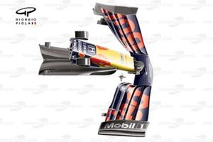 Red Bull Racing RB16 front wing cape