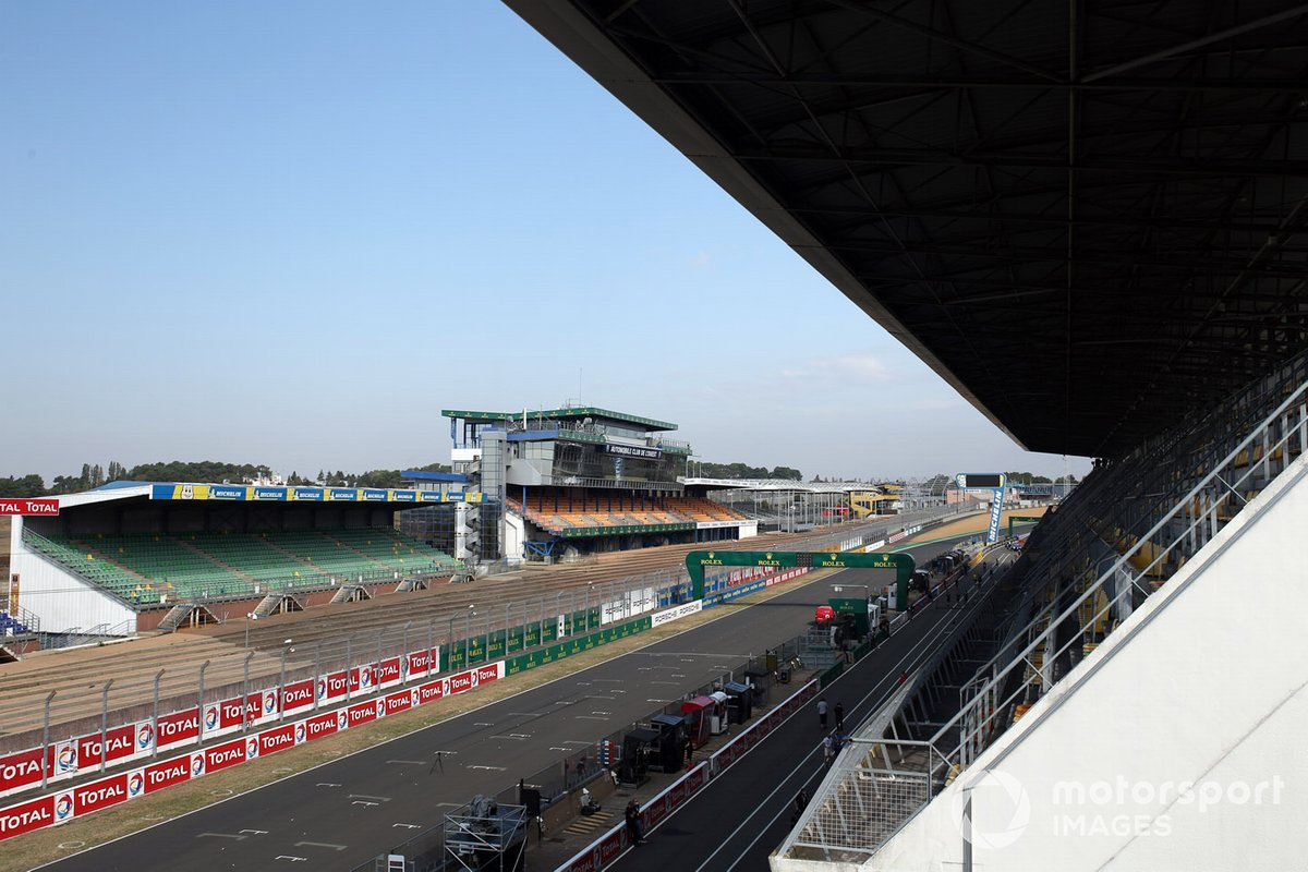 Le Mans circuit overview