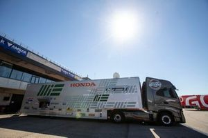MIE Racing Honda Team truck