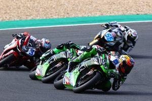 Philipp Oettl, Kawasaki Puccetti Racing, Lucas Mahias, Kawasaki Puccetti Racing