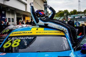 Il vincitore della gara Yann Ehrlacher, Cyan Racing Lynk & Co 03 TCR