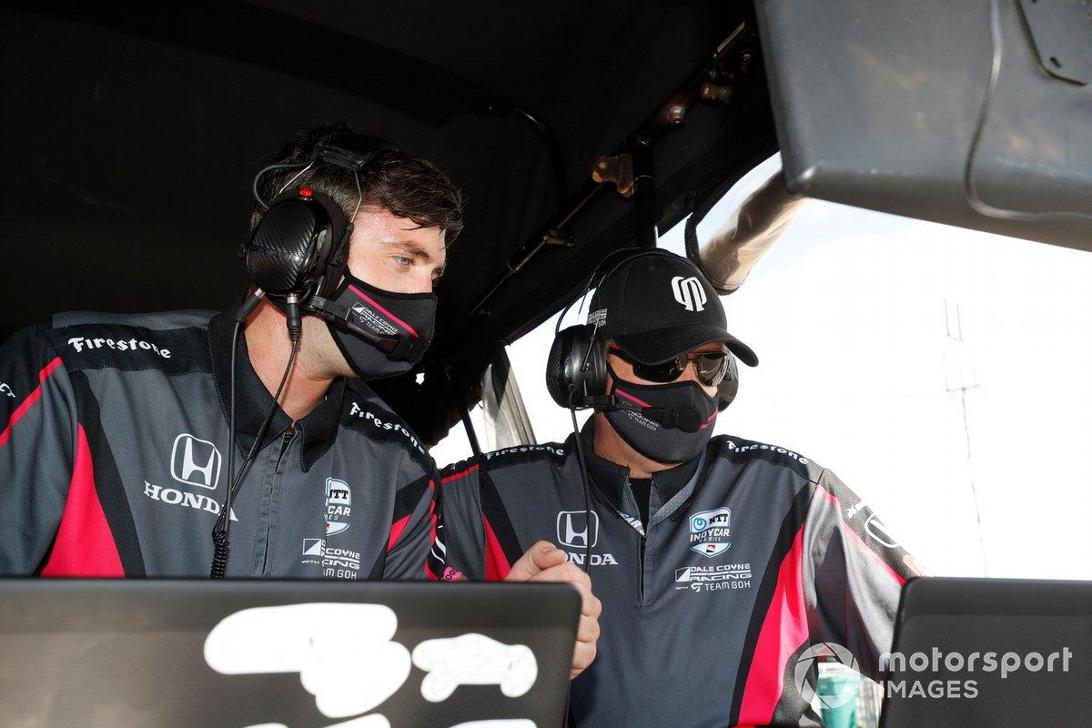 Alex Palou, Dale Coyne Racing with Team Goh Honda ingenieros