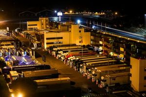 Circuit Paul Ricard at night