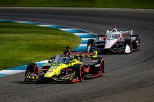 Santino Ferrucci, Dale Coyne Racing with Vasser Sullivan Honda, Josef Newgarden, Team Penske Chevrolet