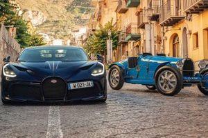 Les Bugatti Divo et Type 35 à la Targa Florio