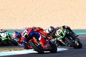 Leon Haslam, Team HRC, Alex Lowes, Kawasaki Racing Team