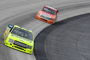Matt Crafton, ThorSport Racing, Ford F-150 Ideal Door/Menards, Derek Kraus, McAnally Hilgemann Racing, Toyota Tundra ENEOS