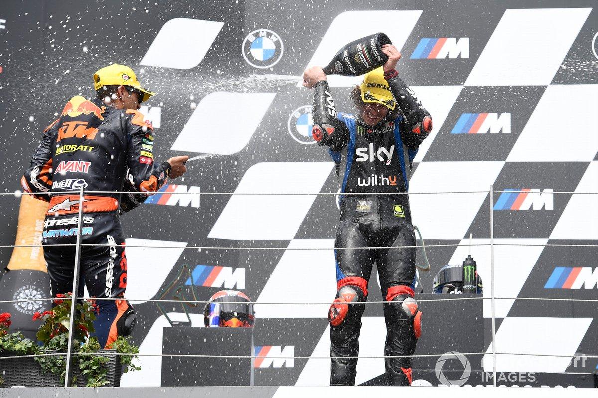 Jorge Martin, Red Bull KTM Ajo, Marco Bezzecchi, Sky Racing Team VR46