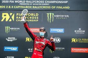 Podium: Race winner Niclas Gronholm, GRX Taneco