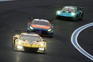 #3 Corvette Racing Corvette C8.R, GTLM: Antonio Garcia, Jordan Taylor, #74 Riley Motorsports Mercedes-AMG GT3, GTD: Lawson Aschenbach, Gar Robinson, #16 Wright Motorsports Porsche 911 GT3 R, GTD: Ryan Hardwick, Patrick Long