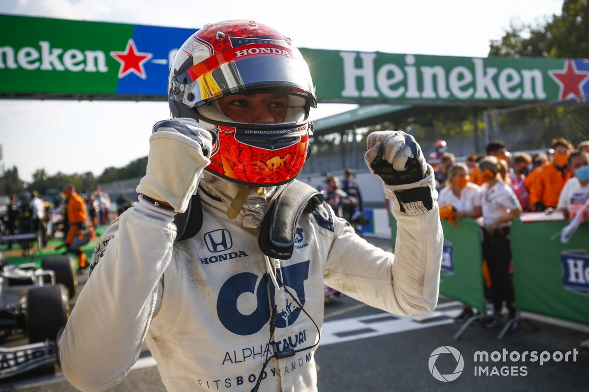 Pierre Gasly - AlphaTauri AT01-Honda - GP de Italia 2020
