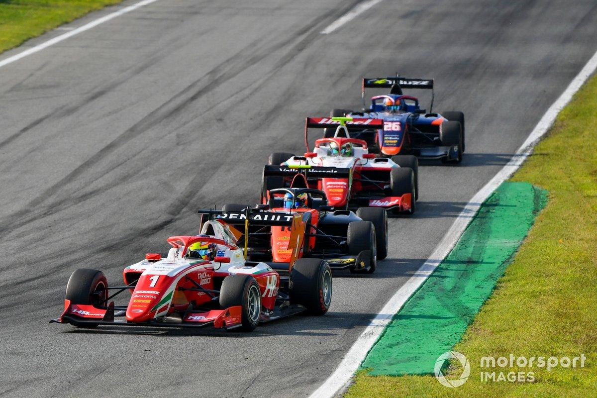 Oscar Piastri, Prema Racing y Bent Viscaal, MP Motorsport