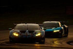 #44 GRT Magnus Lamborghini Huracan GT3, GTD: John Potter, Andy Lally, #22 Gradient Racing Acura NSX GT3, GTD: Till Bechtolsheimer, Marc Miller