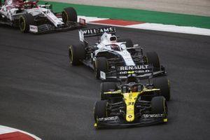 Esteban Ocon, Renault F1 Team R.S.20, George Russell, Williams FW43, Antonio Giovinazzi, Alfa Romeo Racing C39