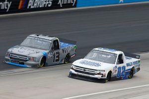 Johnny Sauter, ThorSport Racing, Ford F-150 Vivitar, Tate Fogleman, Young's Motorsports, Chevrolet Silverado Solid Rock Carriers