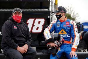 Raphael Lessard, Kyle Busch Motorsports, Toyota Tundra CANAC, crew chief Ryan Fugle