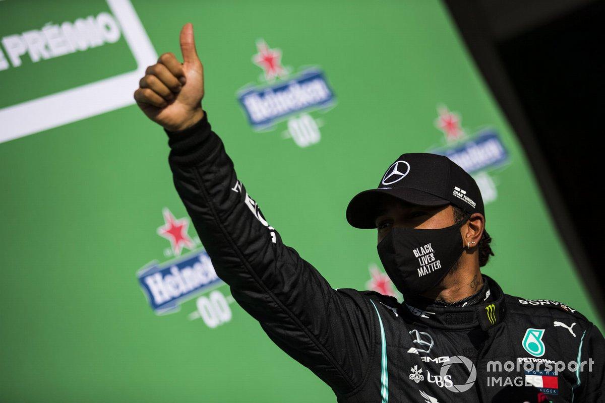 Hamilton consiguió la 97 en el regreso de Portugal a la F1