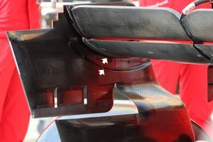 Ferrari SF1000 detail rear wing