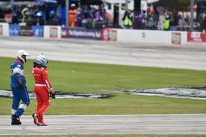 Darrell Wallace Jr., Richard Petty Motorsports, Chevrolet Camaro Door Dash