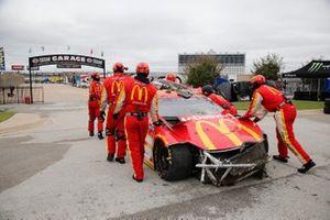 Crash: Matt Kenseth, Chip Ganassi Racing, Chevrolet Camaro McDonald's