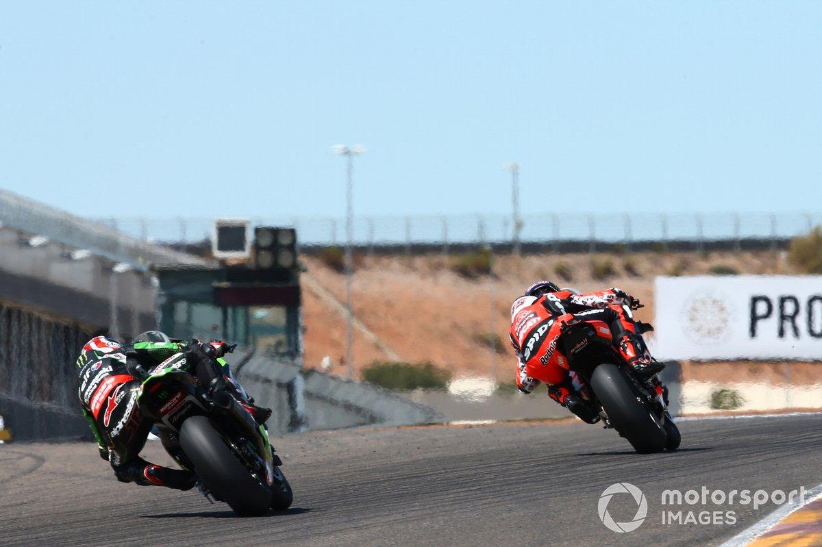 Scott Redding, Arubait Racing Ducati, Jonathan Rea, Kawasaki Racing Team