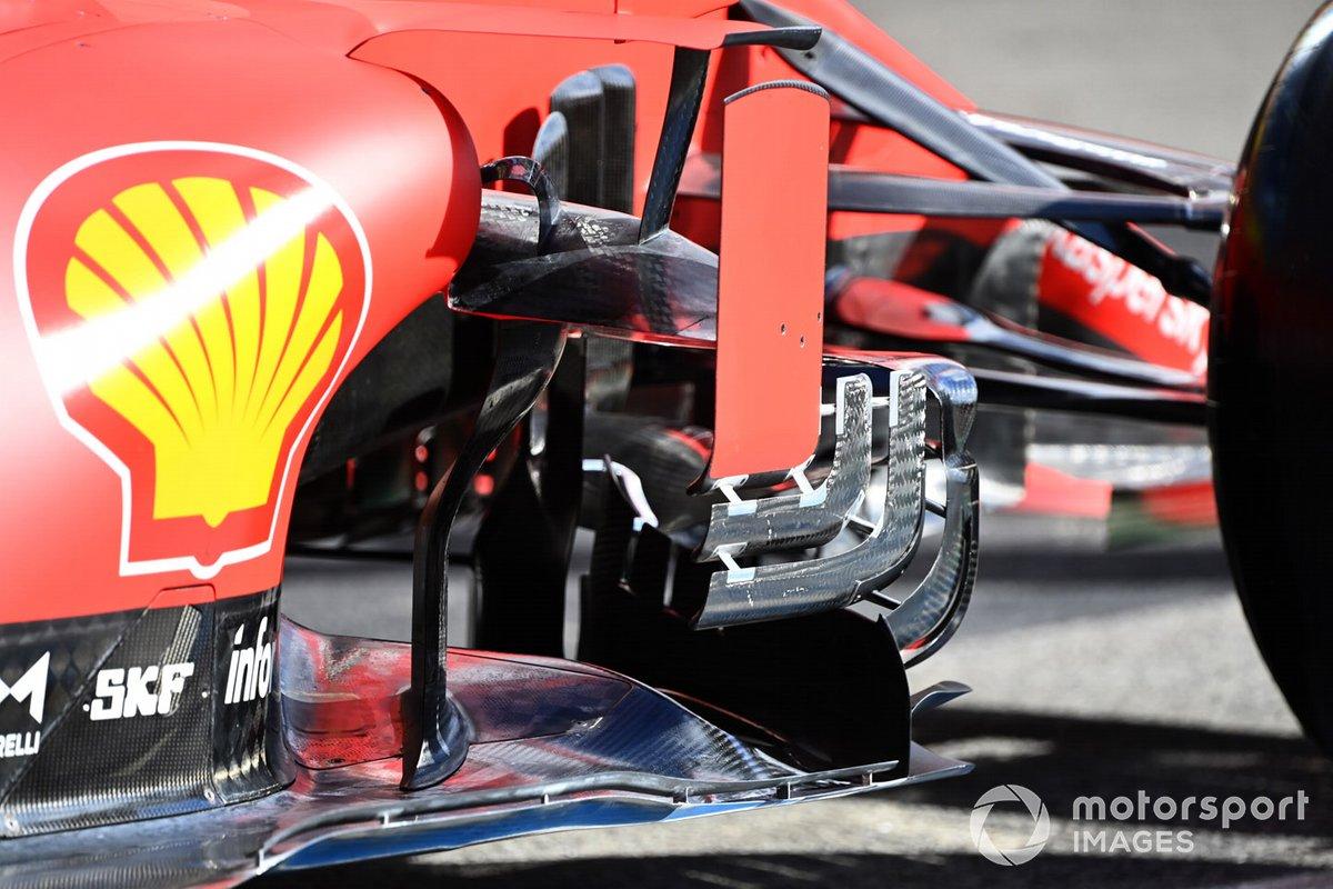 Ferrari SF1000: Luftleitbleche
