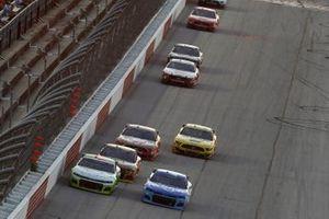 Darrell Wallace Jr., Richard Petty Motorsports, Chevrolet Camaro Cash App Ricky Stenhouse Jr., JTG Daugherty Racing, Chevrolet Camaro Kroger