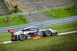 #56 Dinamic Motorsport Porsche 911 GT3-R (991.II): Romain Dumas, Andrea Rizzoli, Mikkel O. Pedersen