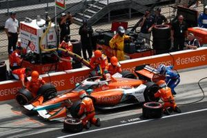 James Hinchcliffe, Andretti Steinbrenner Autosport Honda, Pit Stop