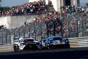 Lucas Auer, Mercedes AMG Team Winward Mercedes AMG GT3, Liam Lawson, AF Corse Ferrari 488 GT3 Evo