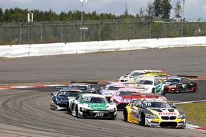 Timo Glock, ROWE Racing, BMW M6 GT3, Markus Winkelhock, Abt Sportsline Audi R8 LMS GT3