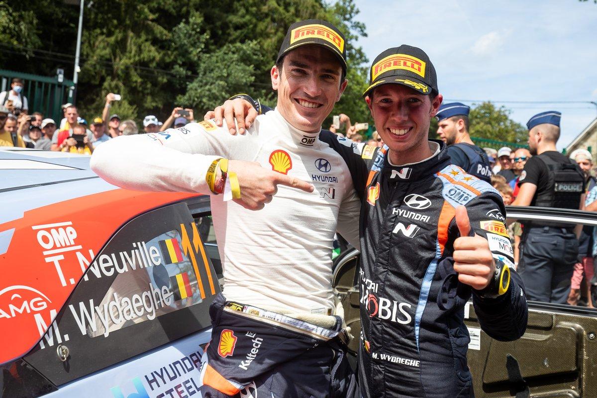 Craig Breen, Hyundai Motorsport, Martijn Wydaeghe