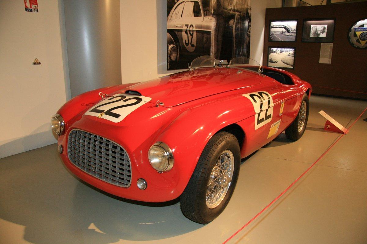 1949年:フェラーリ166MM バルケット・ツーリング(Ferrari 166 MM Barquette Touring)