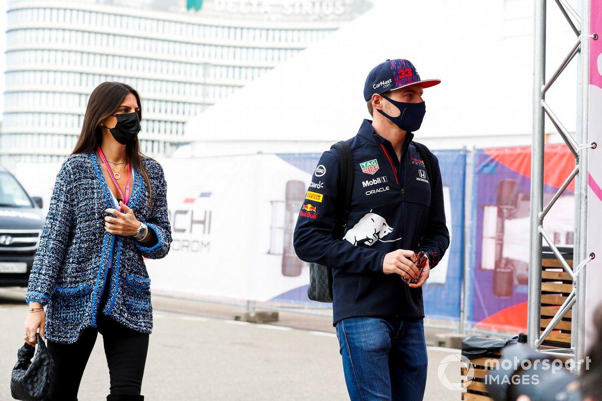 Max Verstappen, Red Bull Racing y Kelly Piquet