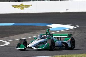 Callum Ilott, Juncos Racing prueba el Juncos Hollinger-Chevrolet IndyCar