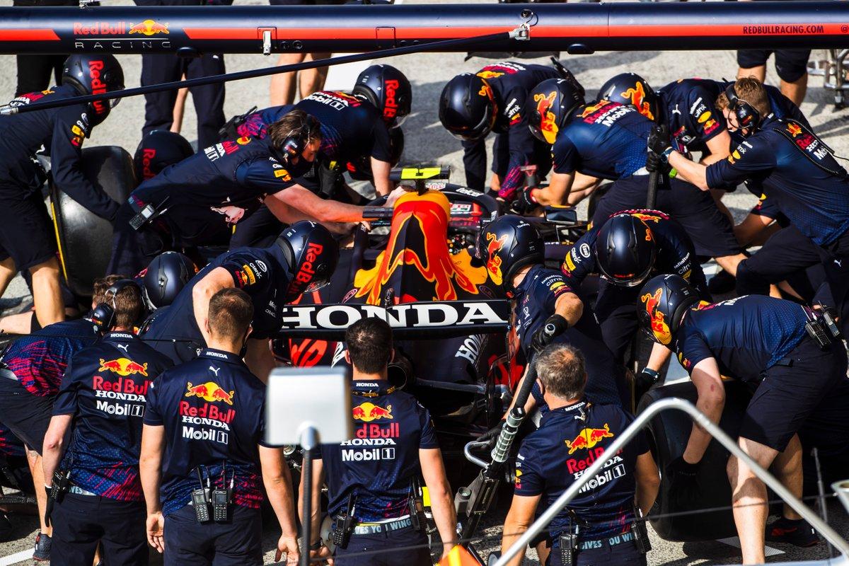 Ensayo de Pitstop de Red Bull Racing