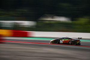 #63 Orange 1 FFF Racing Team Lamborghini Huracan GT3 Evo: Mirko Bortolotti, Marco Mapelli, Andrea Caldarelli