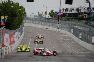 Scott McLaughlin Team Penske Chevrolet, Simon Pagenaud, Team Penske Chevrolet