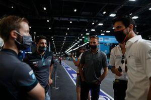 Sam Bird, Jaguar Racing, Mitch Evans, Jaguar Racing, Rene Rast, Audi Sport ABT Schaeffler, Lucas Di Grassi, Audi Sport ABT Schaeffler