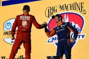 Marcus Ericsson, Chip Ganassi Racing Honda, Scott Dixon, Chip Ganassi Racing Honda
