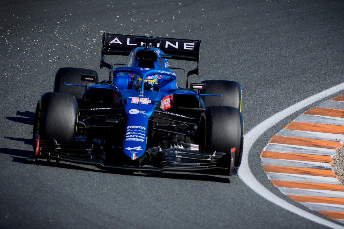 Fernando Alonso, Alpine: 7 puan