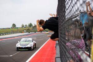 Giorgio Amati, Dinamic Motorsport vince Gara 2