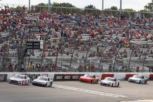 Austin Cindric, Team Penske, Ford Mustang Carshop, A.J. Allmendinger, Kaulig Racing, Chevrolet Camaro Hyperice