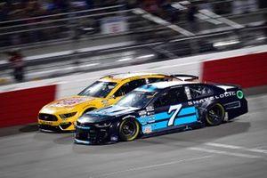 Corey LaJoie, Spire Motorsports, Chevrolet Camaro Shavelogic, Ryan Newman, Roush Fenway Racing, Ford Mustang Oscar Mayer Bacon