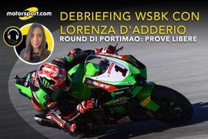 Debriefing WSBK con Lorenza D'Adderio: Round Portimao, Prove Libere