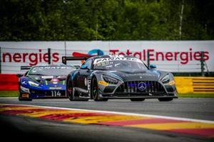 #57 Winward Racing Mercedes-AMG GT: Russell Ward, Mikael Grenier, Philip Ellis