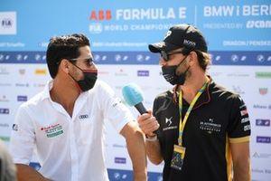 Lucas Di Grassi, Audi Sport ABT Schaeffler, Jean-Eric Vergne, DS Techeetah
