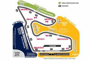 Layout della pista del Red Bull Ring