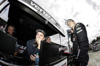 Josef Newgarden, Team Penske Chevrolet, mit Tim Cindric